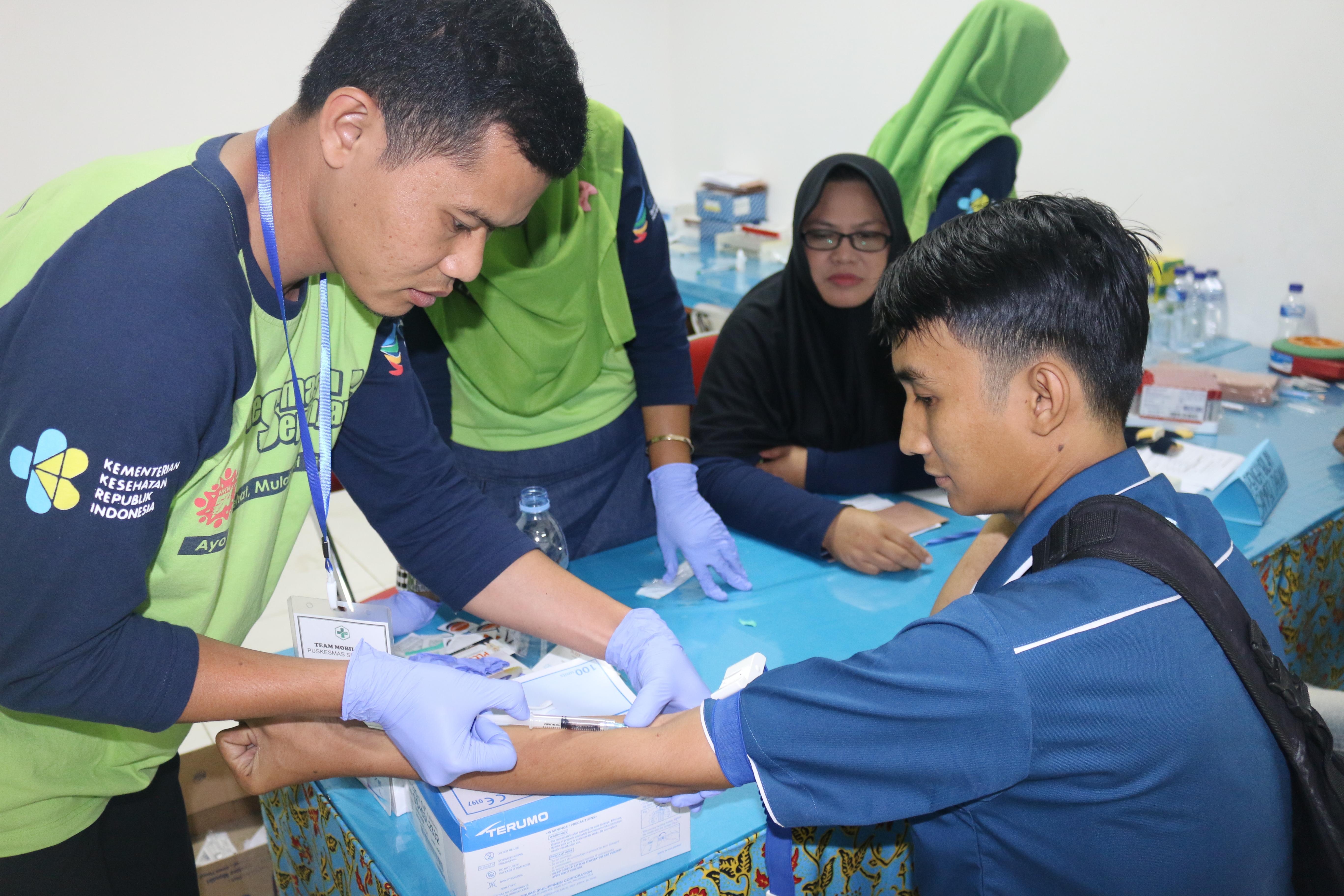 Cegah HIV/AIDS dan TB Paru di Tempat Kerja, HSE PT. IGG Undang KPA Banyuwangi, Puskesmas Sepanjang, dan Puskesmas Tulungrejo